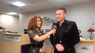 Phỏng vấn Kyo York lần đầu tiên đến hát tại Seattle - Muckleshoot Casino (4K VIDEO)