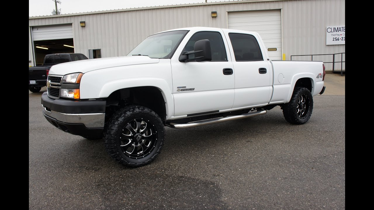 CHEVY GMC GM Lifted 2003 Chevrolet Silverado 2500 HD