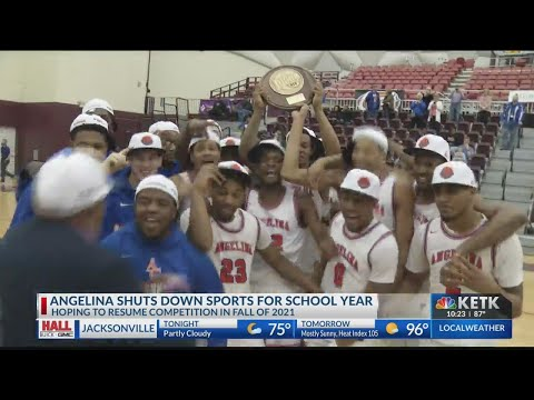 Angelina College shuts down sports competition for 2020-21 school year