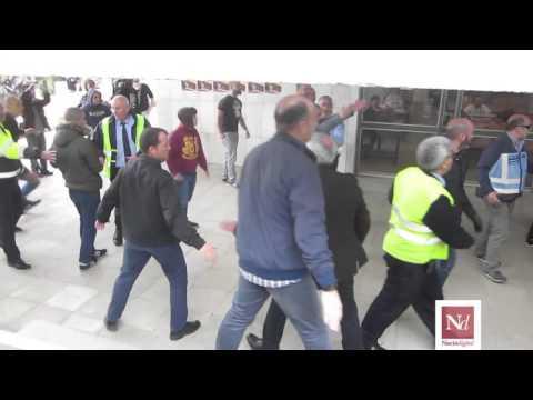 Vídeo incidents per la presència de feixistes a la UAB