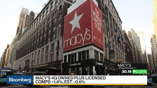 Former Bloomingdale's CEO Says Macy's Model Not Viable Long-Term
