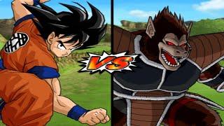 [TAS] DBZ BT3: Goku (Early) Vs. Great Ape Raditz (Enhanced Red Potara) (Request Match)