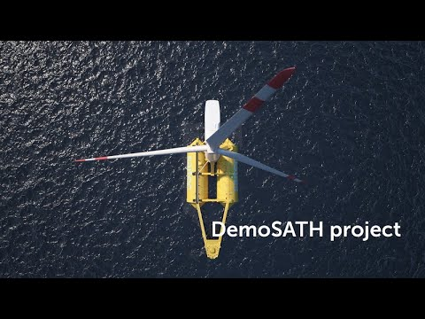 DemoSATH Floating offshore wind project