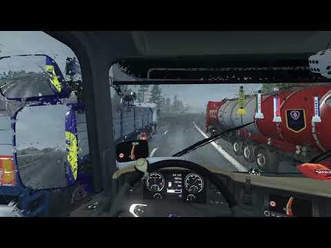 Euro Truck Simulator 2 - Base Buying Spree part 1 - St Petersburg to Petrozavodsk