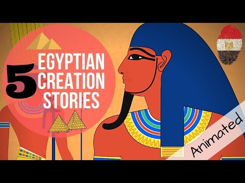 5 Egyptian Mythology Creation Stories Animated