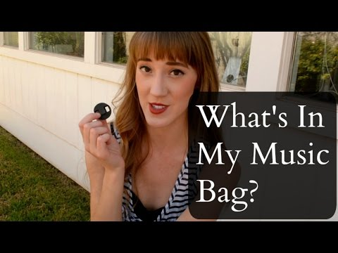 What's In My Music Bag? | How To Music | Sarah Joy