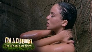 Vicky Pattison Keeps Dropping The Soap In The Shower | I'm A Celebrity... Get Me Out Of Here!