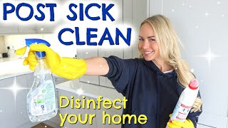 AFTER SICK CLEAN: HΟW TO DISINFECT YOUR HOUSE POST SICKNESS