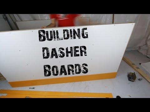 Building Dasher Boards Timelapse