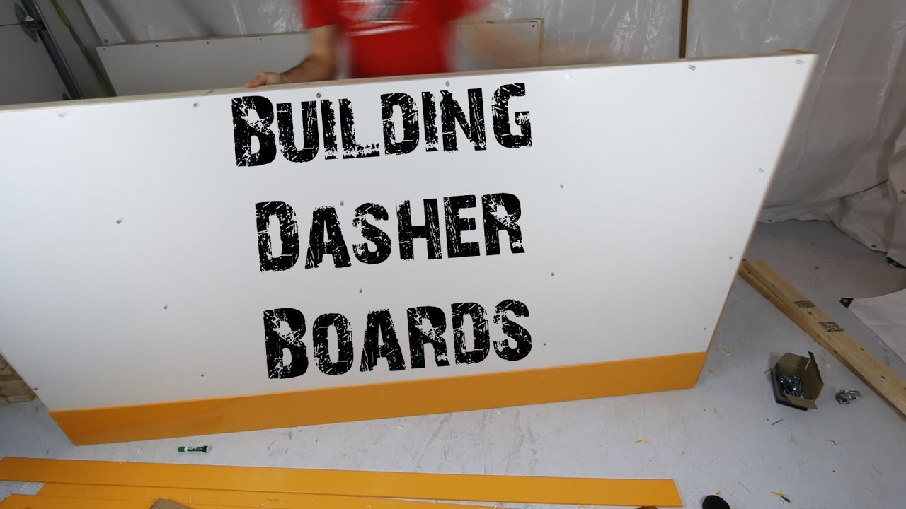 Building dasher boards timelapse youtube for How to find a good builder in your area