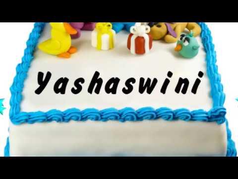 Happy Birthday Yashaswini   Whatsapp Status Yashaswini