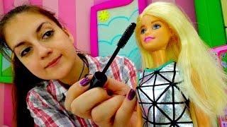 Детские игрушки для девочек: Первое свидание Барби и Кена. Детская косметика для девочек