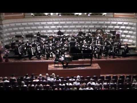 George Gershwin, Rhapsody in Blue Piano and Accordion Orchestra Erik Reischl, Thomas Bauer, LAOH