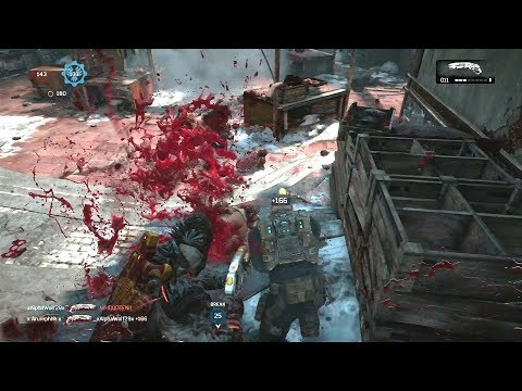EXTREME SWEAT ON OLD NIPZ! (Gears of War 4) King of the Hill Multiplayer Gameplay!