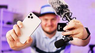 КАК подключить ЛЮБОЙ микрофон к IPHONE? Чтобы работал в Instagram, Facebook, YouTube и в камере IOS.