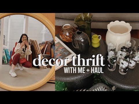 Home Decor Thrift With Me + Haul: Goodwill And Vintage! | Apartment Makeover Ep. 2