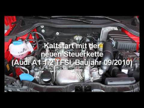 audi a1 1 2 tfsi kaltstart neue steuerkette youtube. Black Bedroom Furniture Sets. Home Design Ideas