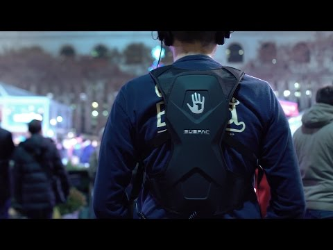 The SubPac M2 is a backpack with bass