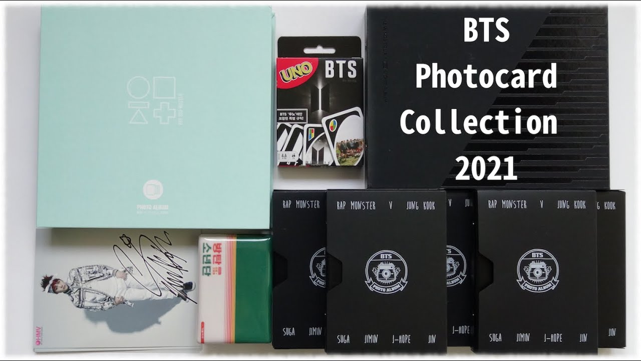 Download My BTS Photocard Collection 2021!