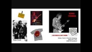 Robin Trower- Travis St. Electric Company, Dallas, Tx 3/20/75