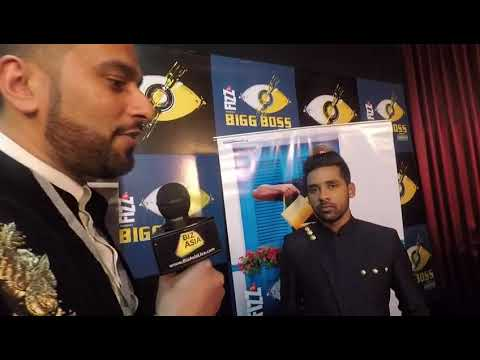 BizAsia's Raj Baddhan talks to Puneesh Sharma at 'Bigg Boss 11' finale'