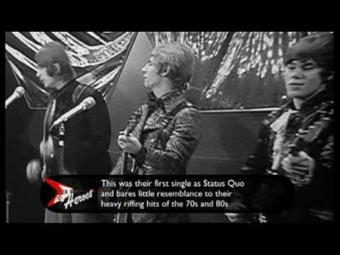 STATUS QUO  Pictures Of Matchstick Men  1968 UK TV Appearance ~ HIGH QUALITY HQ ~