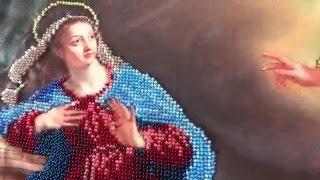 Вышивка бисером: Благовещение по набору Творчість та краса