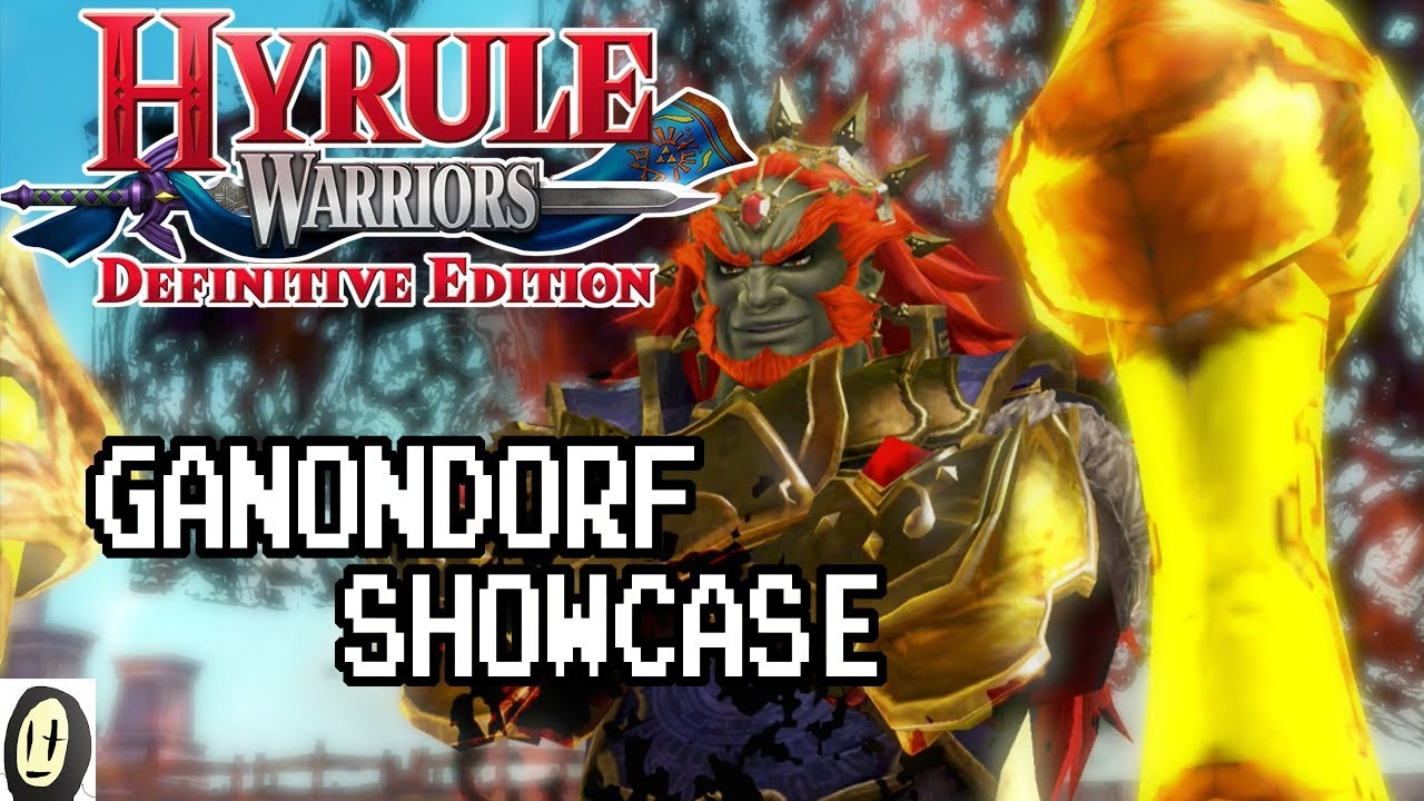 Hyrule Warriors Definitive Edition Ganondorf Great Swords Showcase Lv 4 Weapon