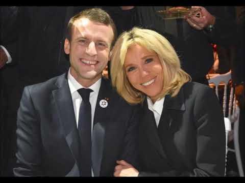 Emmanuel Macron President De La Republique Et Sa Brigitte Youtube
