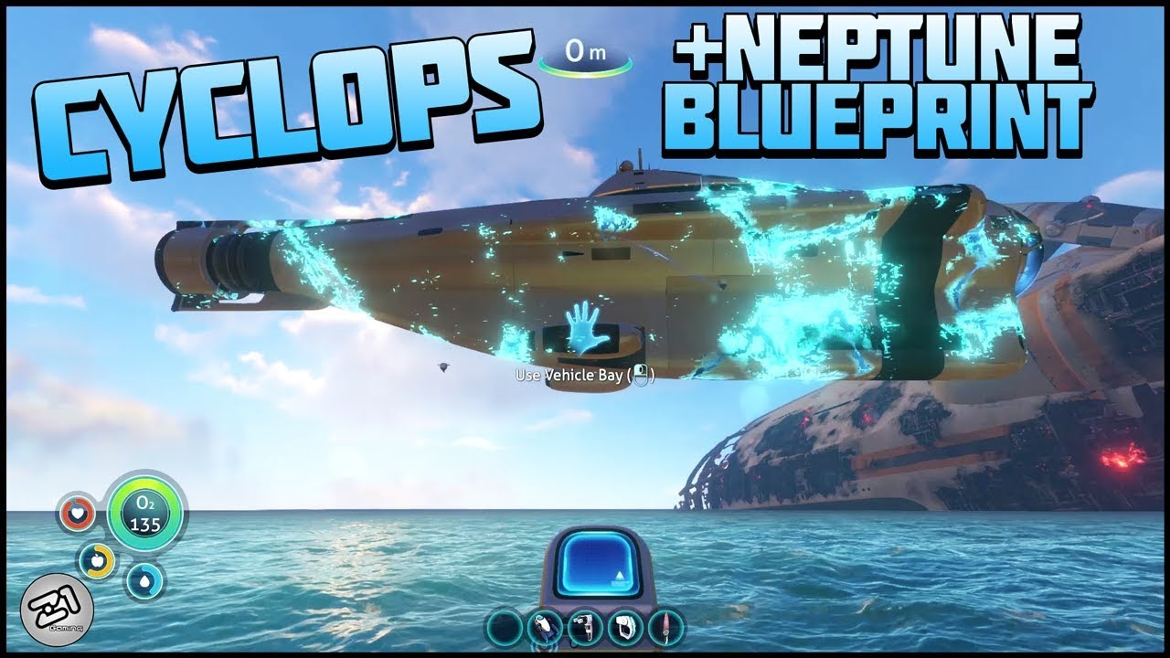 Building the cyclops neptune blueprints subnautica gameplay e8 building the cyclops neptune blueprints subnautica gameplay e8 z1 gaming malvernweather Image collections