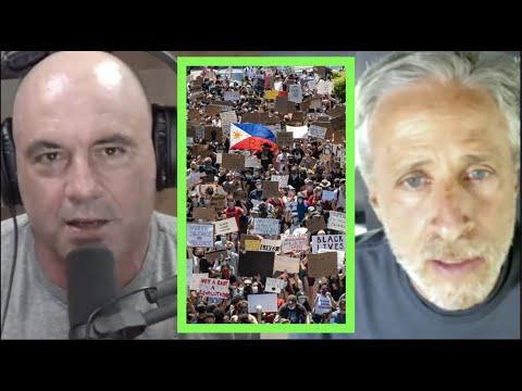 Jon Stewart on George Floyd Protests Enacting Change  Joe Rogan