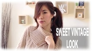 Romantic Sweet Vintage Fashion LookBook