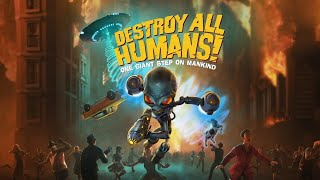 NAMATIN GAME ALIEN PALING BARBAR!!! - DESTROY ALL HUMANS 2020 INDONESIA (LIVE)
