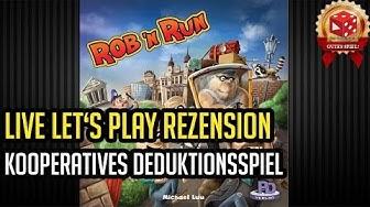 Rob 'n Run (Michael Luu, PD-Verlag 2017)) im Test: Kooperatives Kombinations-Deduktionsspiel