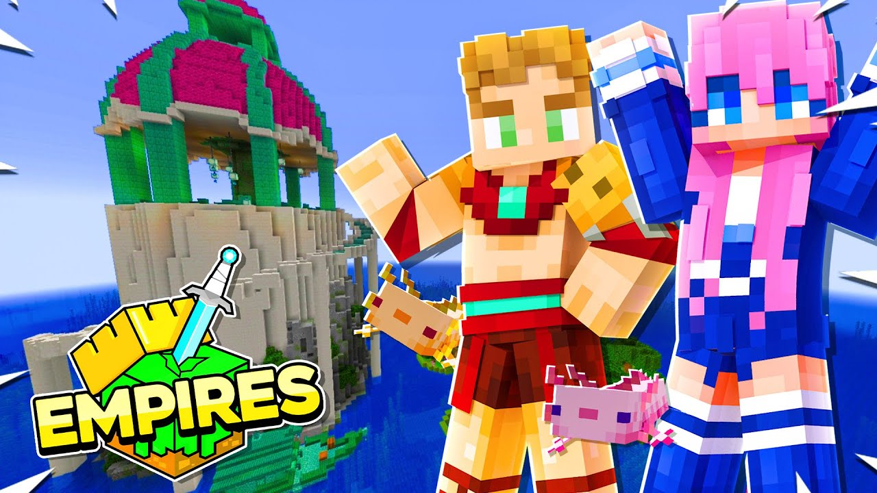 Stealing From The Other Empires... | Minecraft Empires SMP - Ep.08
