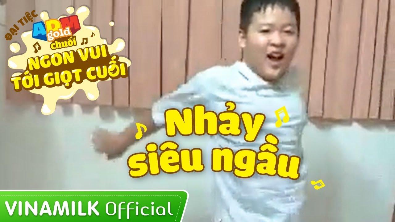 Đại tiệc ADM Gold Chuối – Cậu bé nhảy hip hop siêu ngầu
