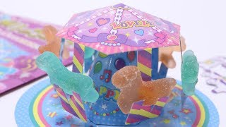 Merry-Go-Round DIY Candy Do you like  Candy Amusement Park?
