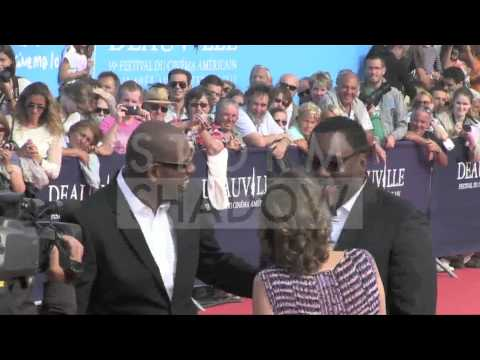 Forest Whitaker and Lee Daniels on the red carpet of the 2013 Deauville Film Festival