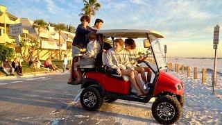 Golf Cart Crash!