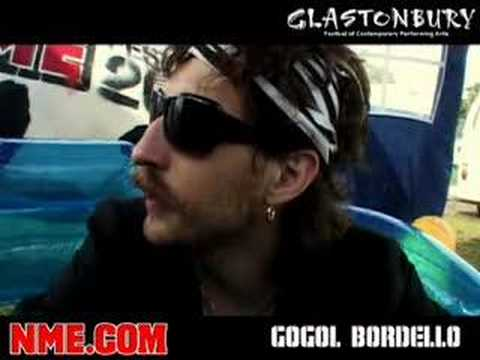 NME Video: Gogol Bordello @ Glastonbury Festival 2007