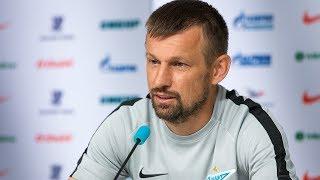 «Зенит» — «Динамо» Минск: послематчевая пресс-конференция