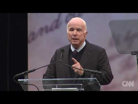 McCain's full speech at Liberty Medal ceremony