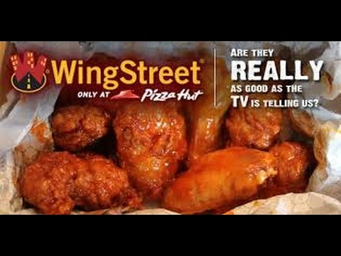 Pizza Hut S Wing Street Garlic Parmesan Wings Taste Test And Review