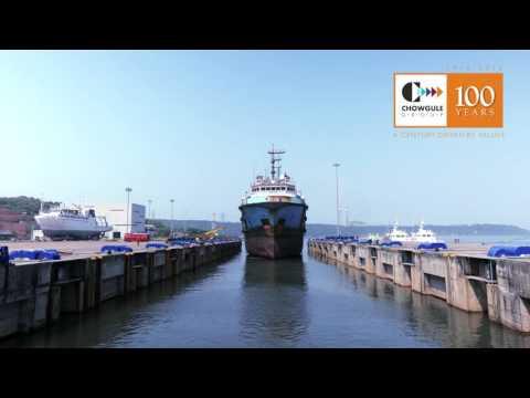 Ship Lifting at Lavgan Dockyard