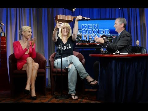 """Ken Boxer Live,"" Kathleen Wilhoite, Actor, Comedian, Writer, w/Cate Imperio"
