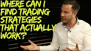 Where can I find trading strategies that actually work?