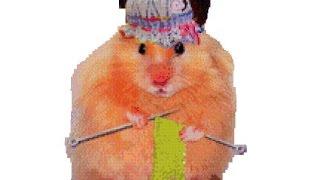 """Сказка про хомяков """"В гостях у бабушки"""" -  Мультик про хомячков - новая серия - хомки Соня и Маршал."""