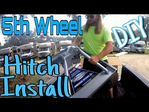 5th Wheel Hitch Install - DIY | Andersen Ultimate Fifth Wheel Connection | RV Full Time