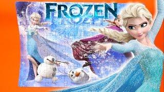 Frozen SuperColor Glitter Puzzle - Clementoni 27248