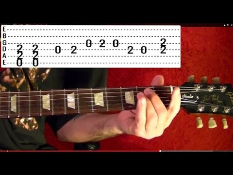 TNT by AC/DC - Guitar Lesson - Angus Young